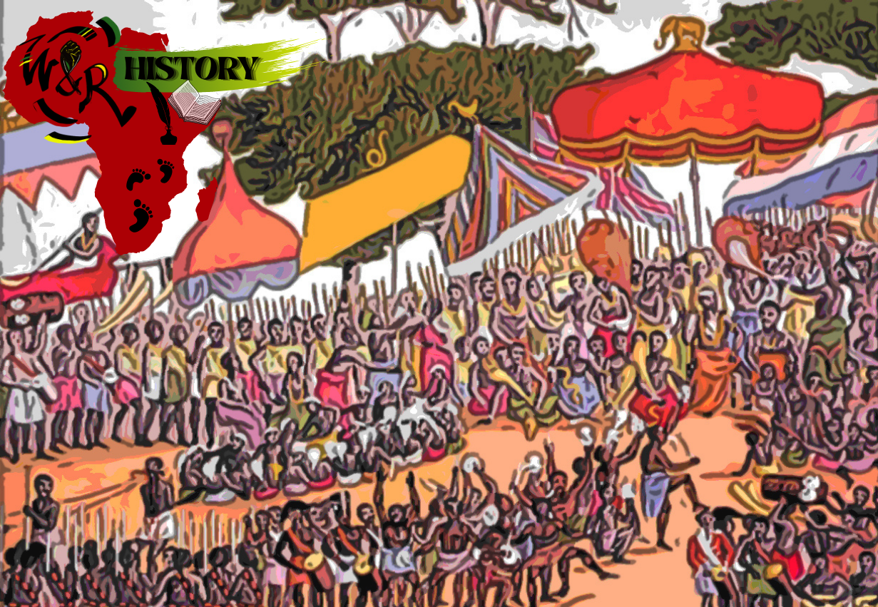 ashanti kingdom outside celebration