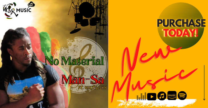 PURCHASE No Material - Man-Sa ft Nikita Sky Today!