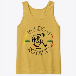 Wisdom and Royalty Classic Tank Top - Mustard