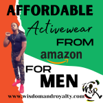 affordable men's activewear from amazon